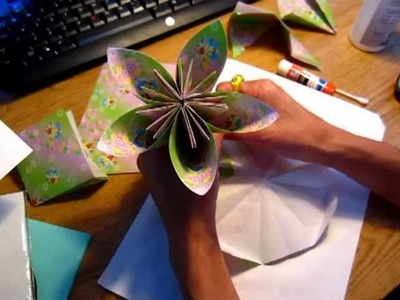Origami paper flower - non-educational