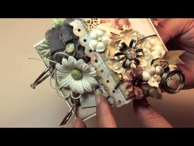 Scrapbooking NEW Delight Paper Bag Mini Album (LWP Sept 26th 2013)