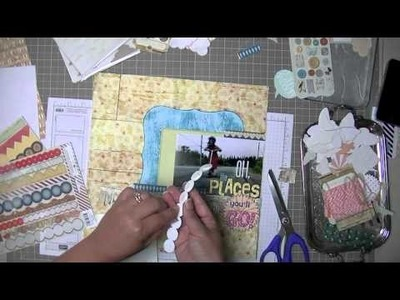 Scrapbooking Process: Oh the places.