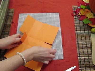 Scrapbooking Tutorial #9: Halloween Paper Gift Bags