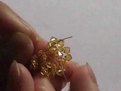 Swarovski Crystal Beadwork Pooh Bear Charm