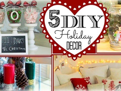 ❄ 5 DIY Holiday Decorations ❄