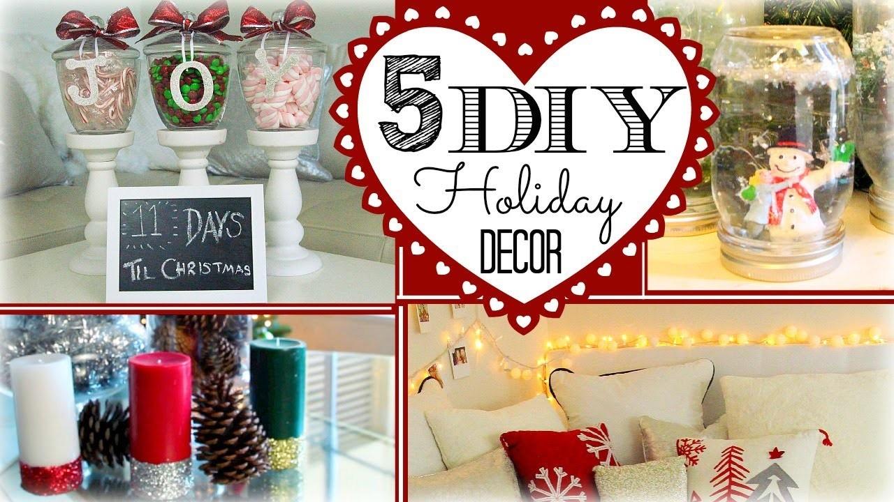 ❄ 5 DIY Holiday Decorations ❄