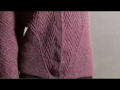 #8 Wrap Coat, Vogue Knitting Winter 2008.09