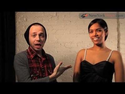 Add Rhinestone Straps to a Strapless Dress | NewYorkDress.com