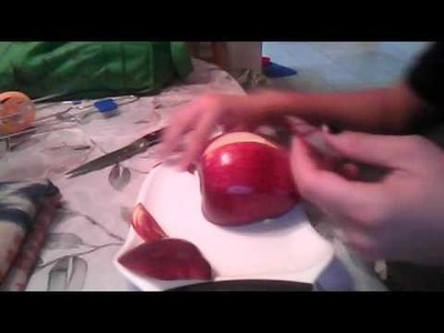 Apple swan part 1 - the body
