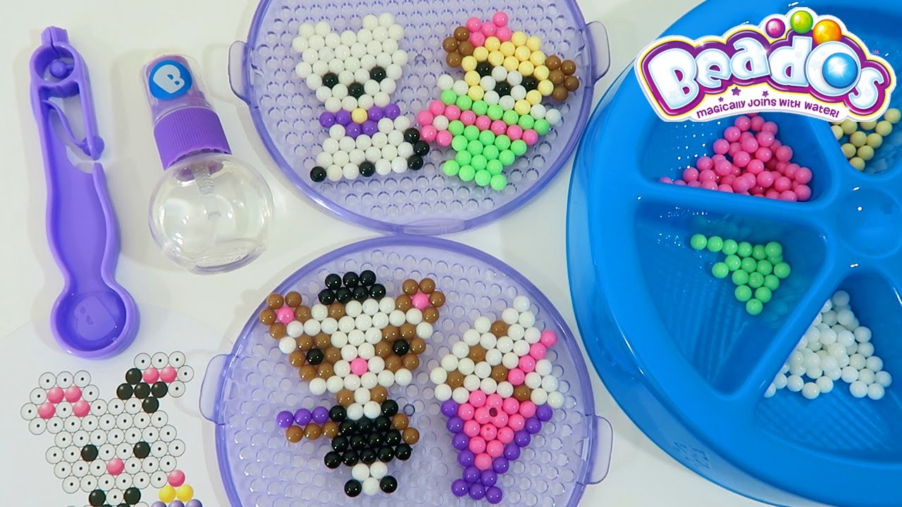 Beados Teapot Cafe Activity Pack Playset | Easy DIY Make Your Own Magic Bead Animals!
