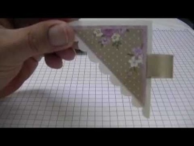 BOOKMARK MADE FROM AN ENVELOPE!