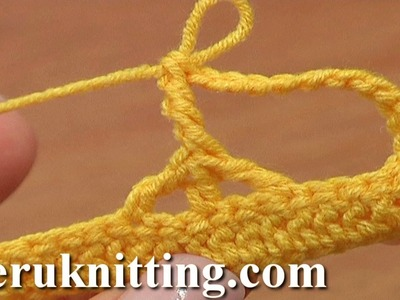 Crochet Complex Stitch Tutorial 26 Post on Top of Decrease Stitch