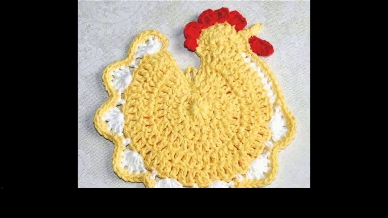 Crochet potholder free patterns