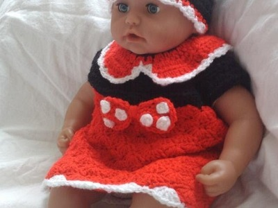 Crochet shell stitch minnie mouse dress ipod holder hot water bottle |Fresh off tha hook