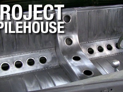 Custom Bomber Seat Fabrication on Project Pilehouse with Eastwood