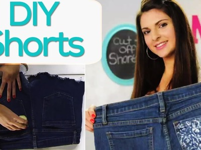 DIY Cut Off Shorts with SoCraftastic! #17NailedIt