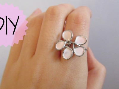 DIY: Flower Wire Ring