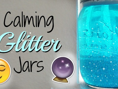DIY Glitter Mason Jars | Room Decor