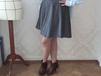 ➳ DIY: HOW TO MAKE A CIRCLE SKIRT!