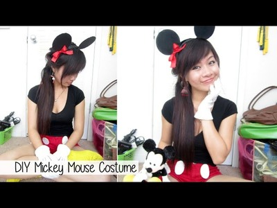 DIY Mickey Mouse Costume