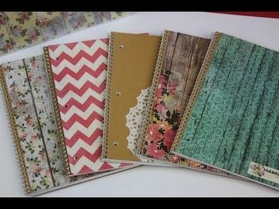 DIY: Notebooks & School Supplies | ShowMeCute