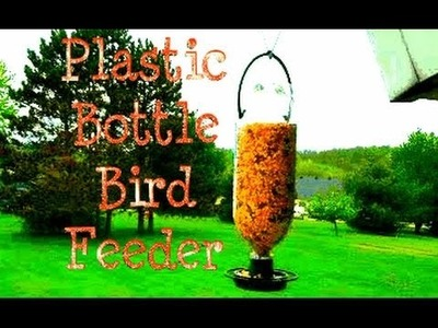 DIY Plastic Bottle Bird Feeder