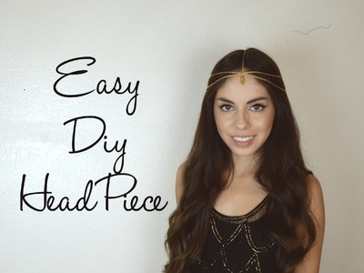 Easy DIY Head Piece