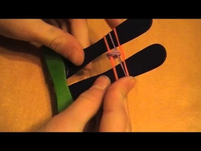 Easy Fishtail Rubber Band Bracelets Using Popsicle Sticks Tool