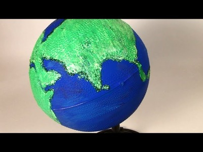 How to make a Globe using ball - DIY