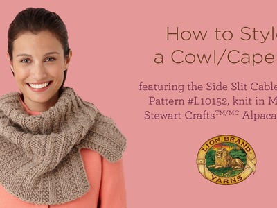 How to Style a Cowl.Capelet