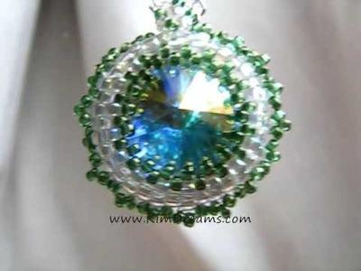 Jewellery by KimDreams - Green Eye Pendant-www.fashionhunter.co