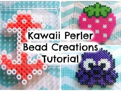 Kawaii Perler Bead Creations