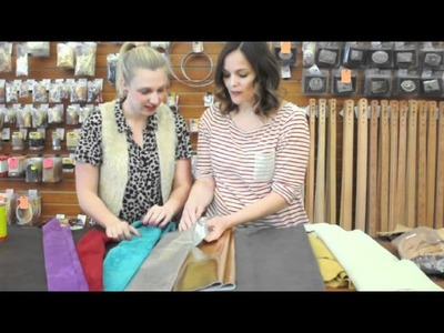 Leather 101 - Using Leather for Craft & Sewing Projects
