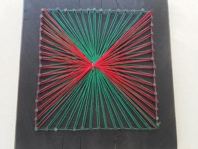 Make Simple 2 Tone String Art - DIY Crafts - Guidecentral
