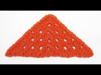 Motif of the Month Jan 2014: Triangle Granny