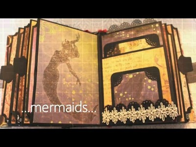 Once Upon A Time II fantasy premade scrapbook album