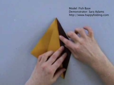 Origami Basics: Fish Base