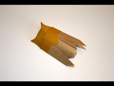 Origami tutorial - Cicada