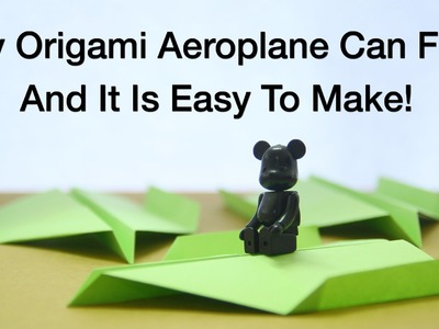 Simple Origami For Kids - Aeroplane