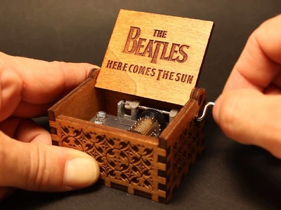 The Beatles - Here Comes The Sun Music Box (Invenio Crafts)