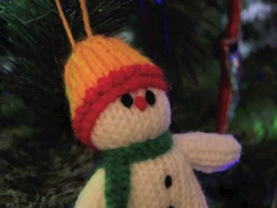 The Knitted Snowman - Christmas Stop Motion