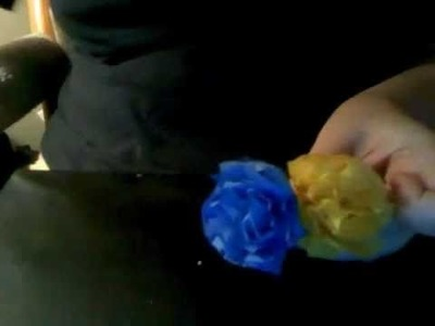 Tissue Paper Carnation - How To