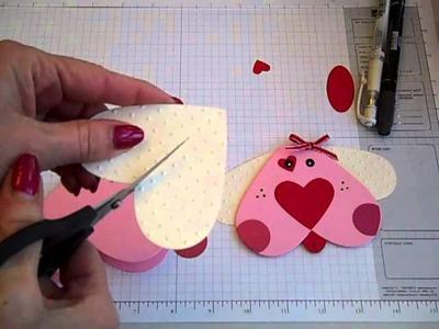 Valentine's Puppy Card