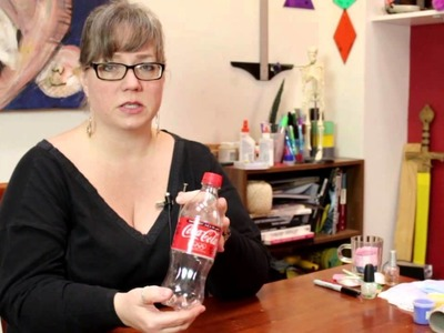 What Can I Use to Make Coke Bottles Into Salt & Pepper Sha.  : Jewelry, Decorations & Other Crafts