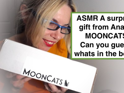 ASMR Mooncats guess whats in the surprise box