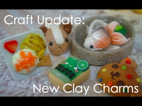Craft Update: Cute Clay Charms