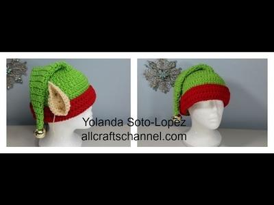 #Crochet Elf Hat (Gorro de Elfo - Subtitulos en Espanol)
