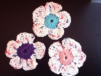 CROCHET SPRING FLOWER BY CARLITTO