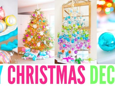 CWM: Decorating my room for Christmas! +DIY´s and Organizing!