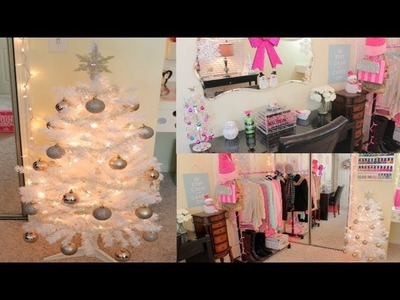 Decorating For Christmas Makeup Room & Office