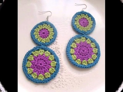 DIVA STITCHES CROCHET EARRING GIVEAWAY-CLOSED!!!