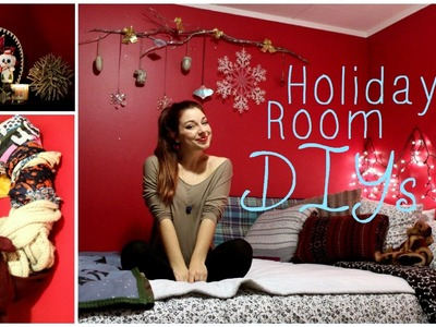 DIY | 4 Holiday Room Decorations