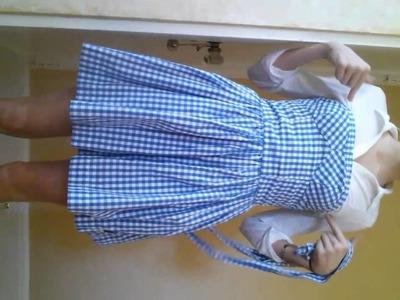DIY Dorothy halloween costume!!!